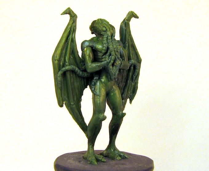 Cthulu-esque Player Miniature - Prototype Sculpture