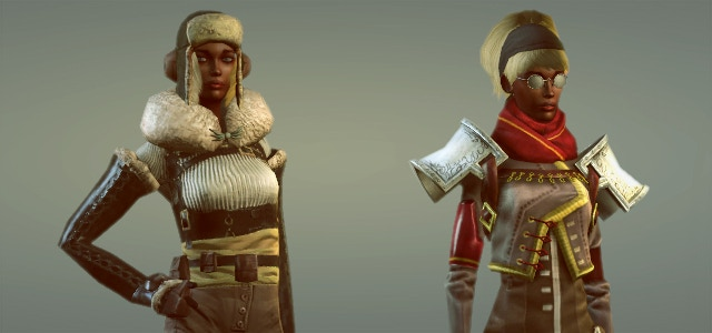 The fashions of Anglea, in the frozen north, tend to the warm and practical. The fashions of the feudal Fjords Baronies have a little more flair.