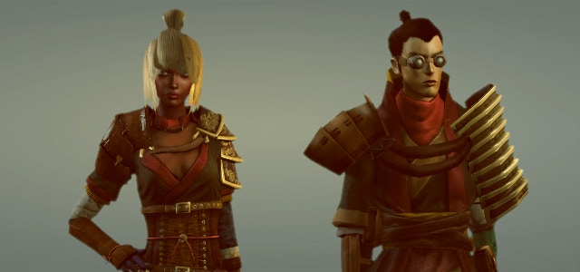 The fashions and culture of the expansionist Yesha Empire show strong Asian influences.