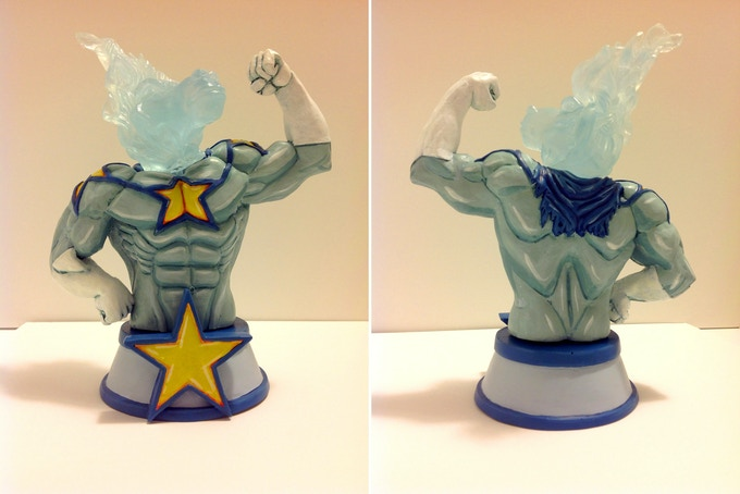 The Painted Statue Edition! Hand painted by the sculptor Gabriel Dorsey. There will only be one produced!
