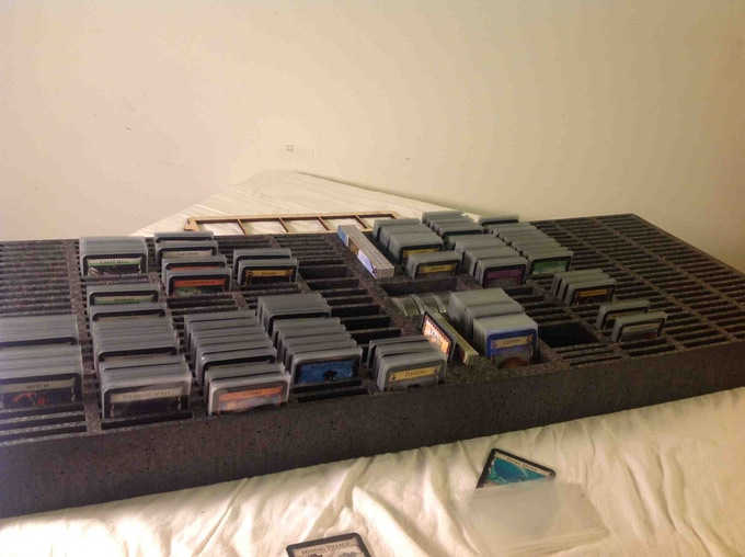 Sleeved version of the Dominion case (the case is not pictured since I do not have a protoype of it yet)