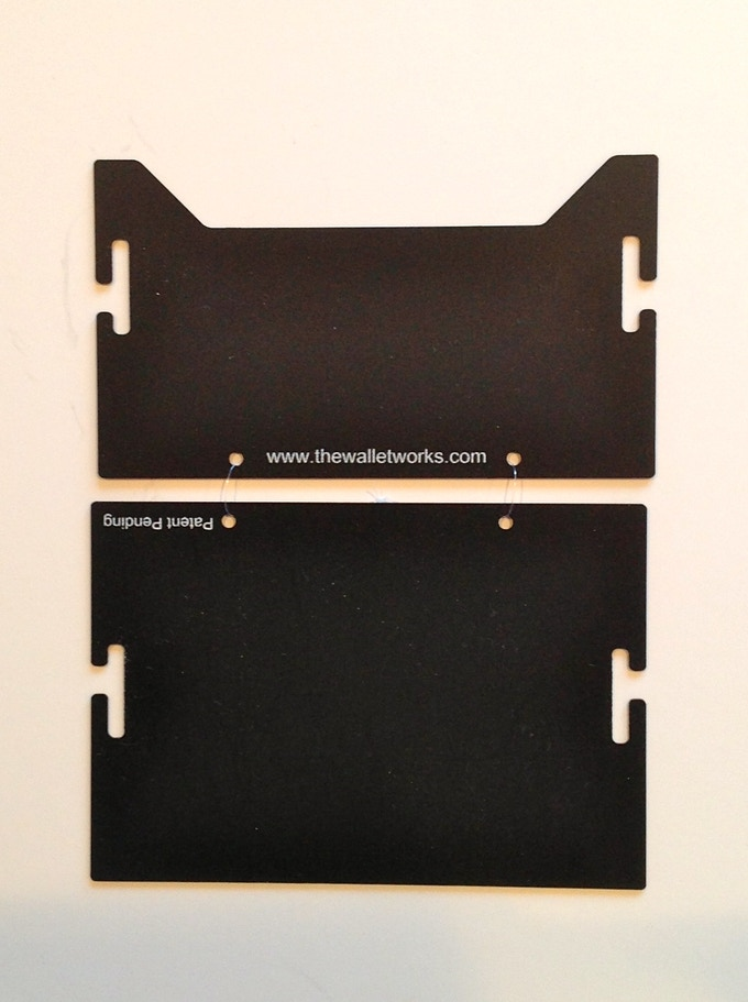 The front and back of the wallet are secured at the bottom to prevent your credit cards from falling through.
