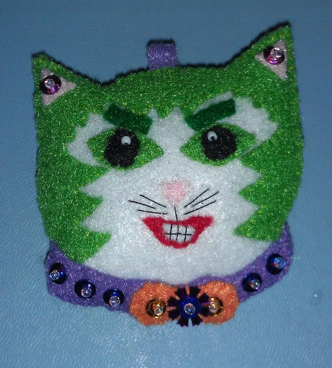 The Joker as a cat!