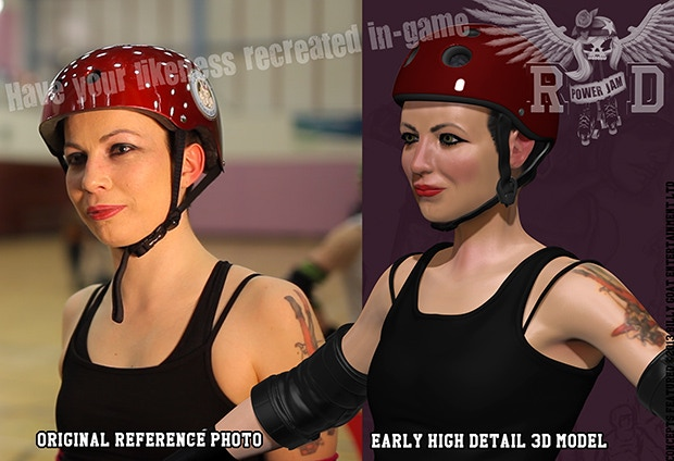 """Have your likeness used in-game as a skater/ referee/ NSO as part of our """"Leader of the Pack Pack"""" reward!"""