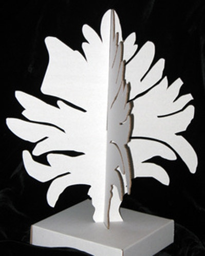 Blank Maquette for An Enchanted Arboretum