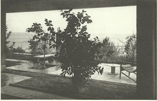 E1027 Garden Terrace (period photograph) - as we intend to restore it and leave permanently on site.