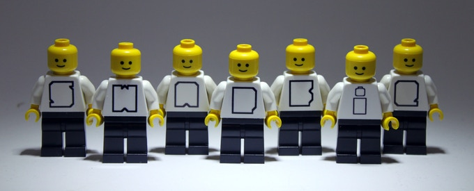 """Get yourself one (or all!) of these exclusive White """"Swapfigures"""". These are the genuine article!"""