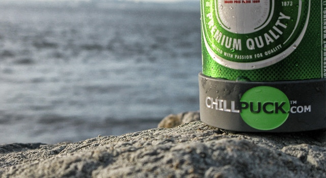 Chill Puck - Keep your beverage colder, longer  by Curt Peters