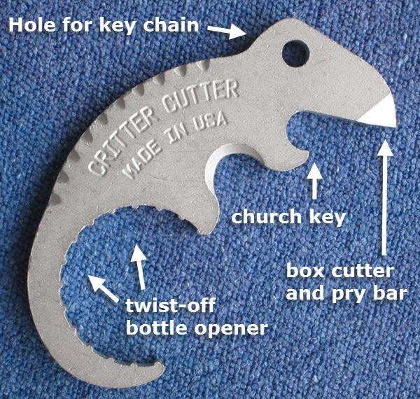 Critter Cutter functions
