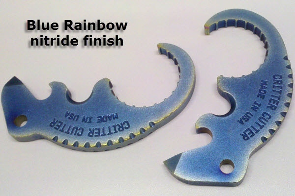 Blue Rainbow Nitride Coating