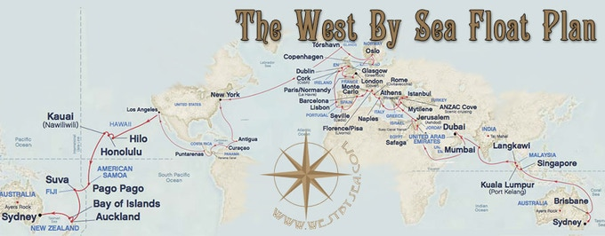 West By Sea float plan
