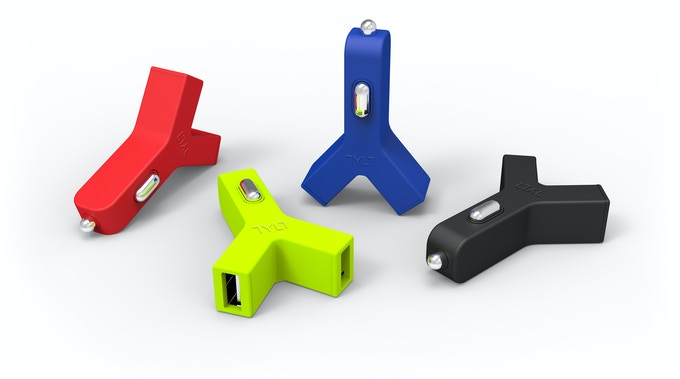 $149 Pledge Bonus YCharge 2.1A USB Car Charger - you pick your color