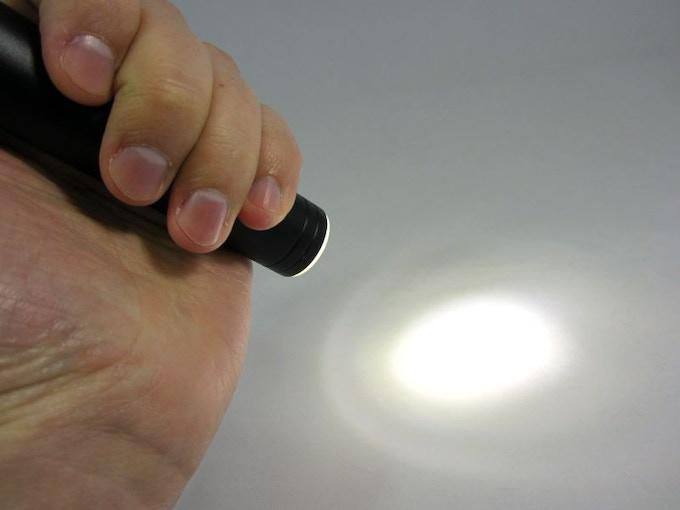 1W Flashlight on the 2600mAh Power Bank