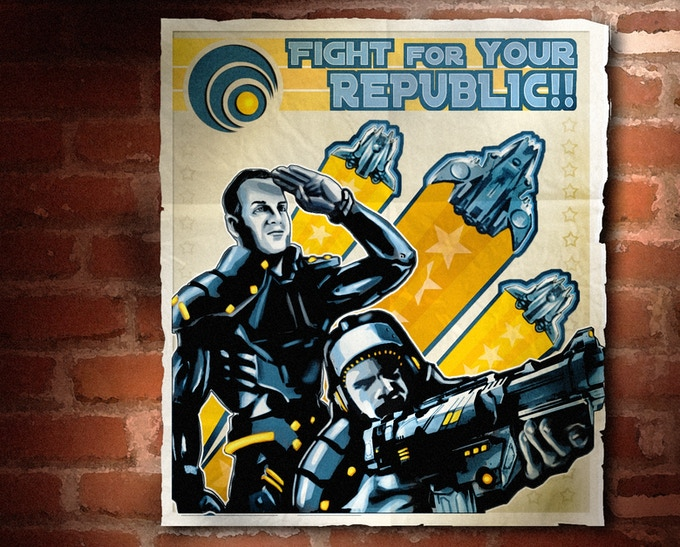 Remember, stretch goals are obtained thanks to you!  FIGHT FOR YOUR REPUBLIC!!