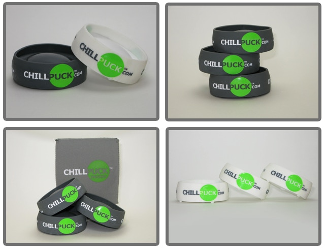 Chill Puck - Keep your beverage colder, longer  by Curt