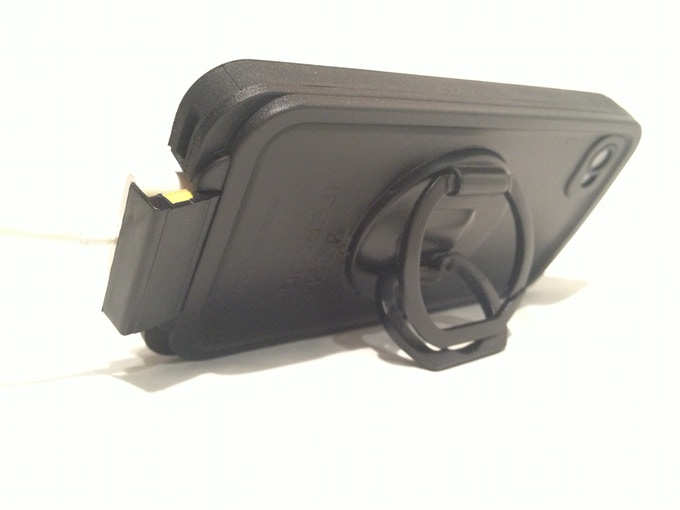 Grip N Stand BUILT IN to a heavy duty case!