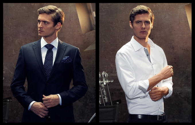 Same shirt, two looks: BEYLER & TÜRK shirts have polished details that show when you take your tie off.