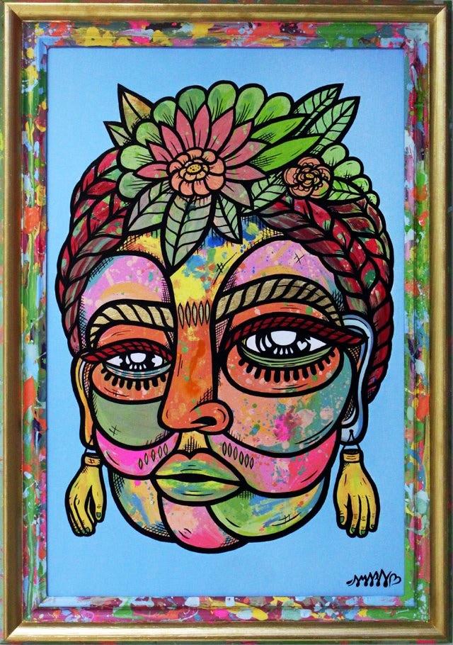 Frida Kahlo piece. 2012.