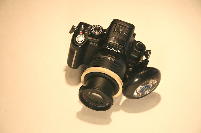 panasonic gh2 with 14-42 kit lens