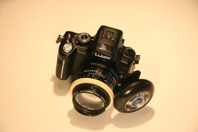 panasonic gh2 with canon fd 50mm