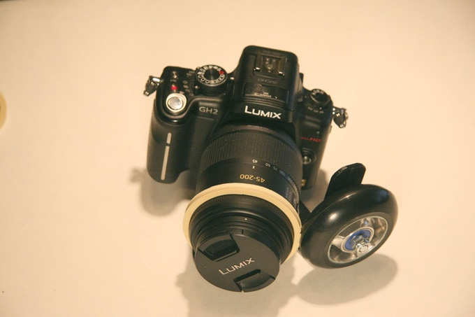 panasonic gh2 with panasonic 45-200 mmlens