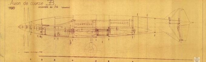 1937 Drawing (Courtesy the Bugatti Trust)