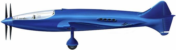"Bugatti 100P by ""Pete"" West"