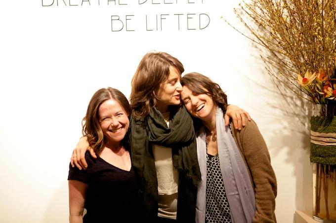 Susannah Ludwig, Elena Brower and Rebecca Dreyfus