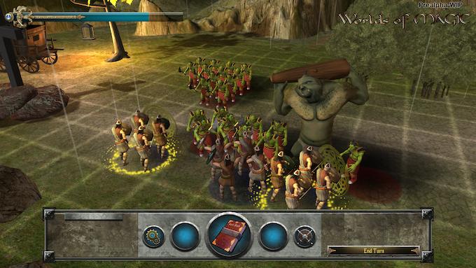 Worlds of Magic Tactical Battle Board Pre-Alpha WIP