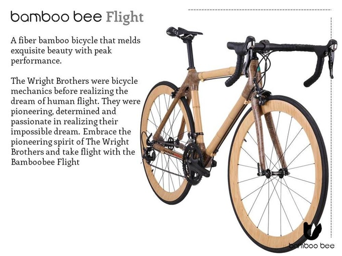Bamboo Bee Bicycle By Sunny Ahsun Chuah Kickstarter