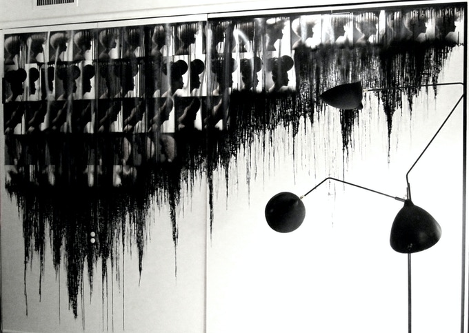 Magazine Tears commissioned wall mural