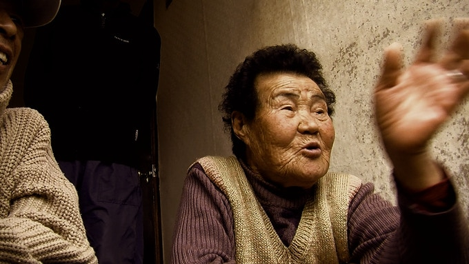 A retired abalone diver recounts the story of Miss Sun Ancestor, a Jeju deity