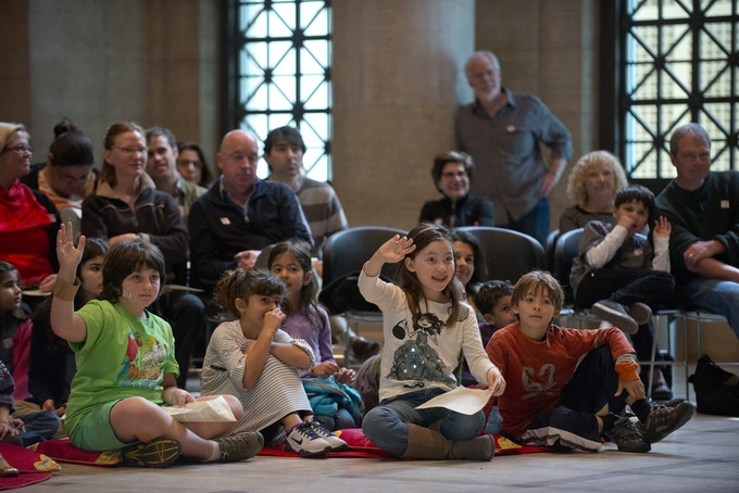 Audiences of all ages enjoy our Education and Family Programming. RUMI X 7 at San Francisco's Asian Art Museum. Photo by DavidAllenStudio.com