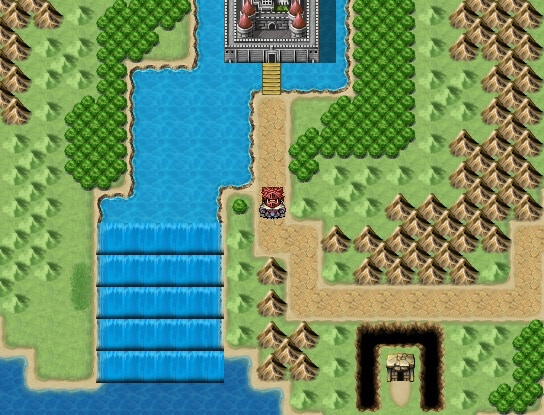 A section of the World Map, showing off game graphics