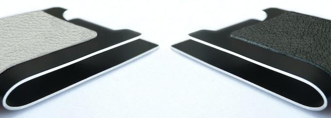 Polar White & Jet Black Leather