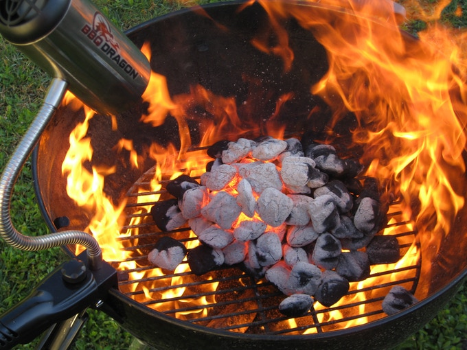 Crazy power and heat for your grill