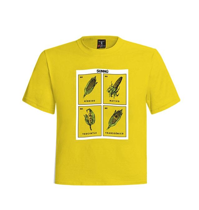 T-Shirt  #2  La loteria of corn- La Loteria del maíz