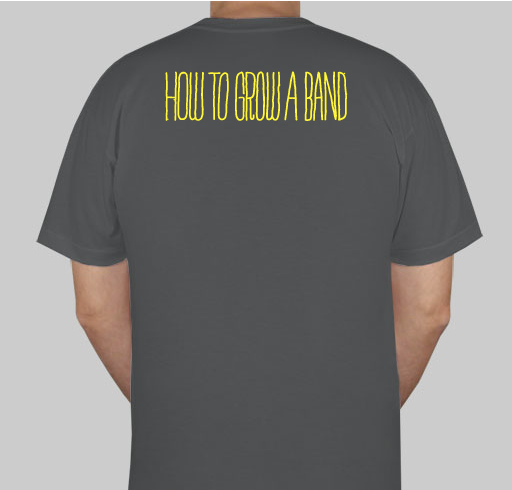 American Apparel 50/50 T-Shirt (Back)