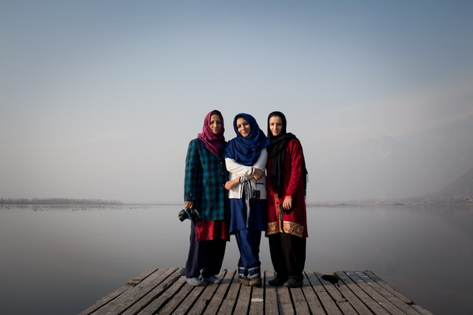Reporters in the GPI Kashmir News Desk participated in a photojournalism training last month. Photo by Mansi Midha.