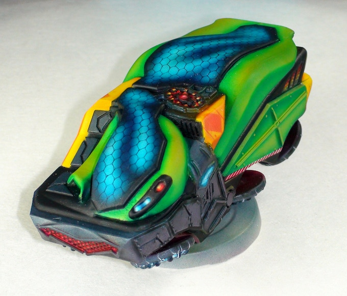 Utility Vehicle: Optional Hover version