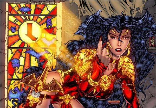 Art by Kirk Lindo. Colors by Greg Price (SPLASH)