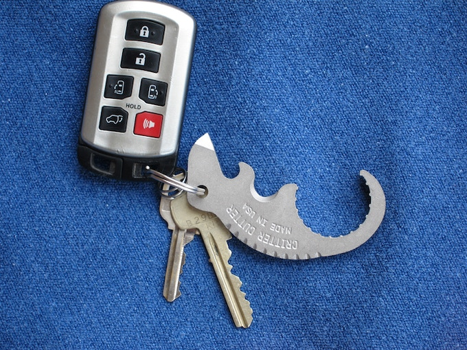 Critter Cutters like to travel, put them on your keychain