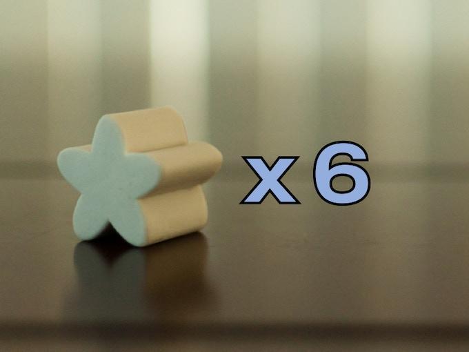 """Flowers - 1 1/8"""" x 1 1/8"""" x 1 1/16"""""""