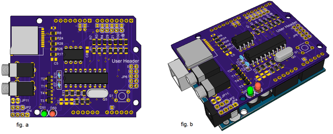 Mico shield for arduino by igor ramos —kickstarter