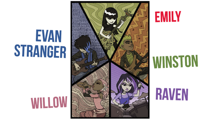 meet Emily and the Strangers