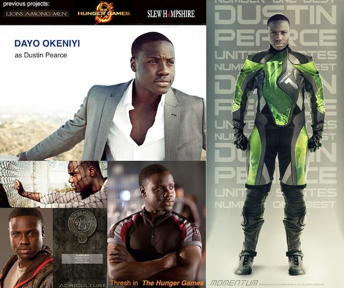 Dayo Okeniyi to play Dustin Pearce