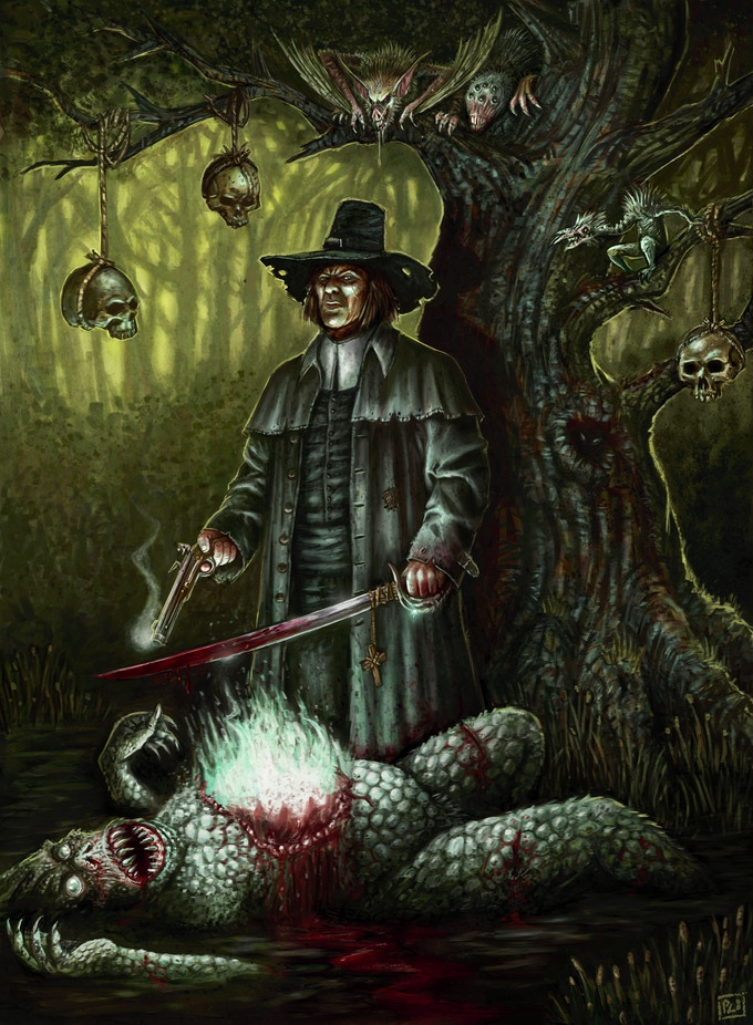 Witch Hunter: The Invisible World 2nd Edition by Henry Lopez