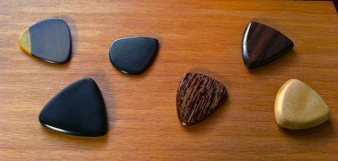 Four of the six Epicks here were crafted using reclaimed wood.