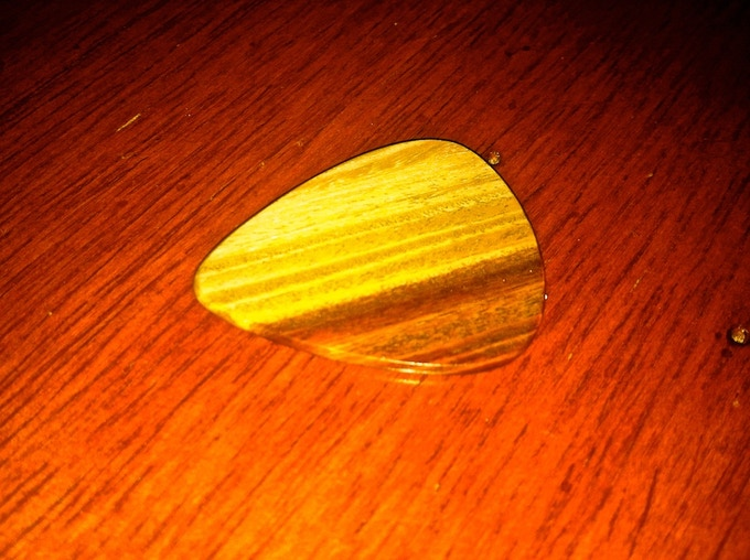 Another Lignum Vitae Epick with a different grain selection.