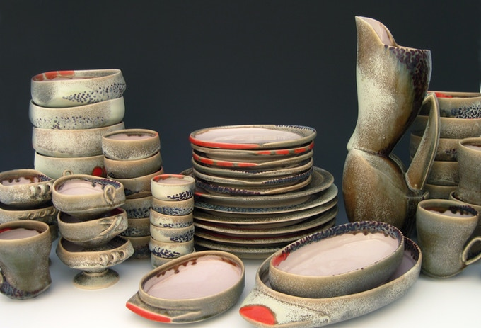 Dinnerware Set...  A Kiln Opening Event Incentive!